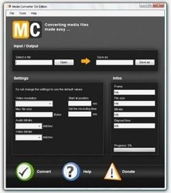 Media Converter SA Edition, la herramienta de escritorio de Media Converter