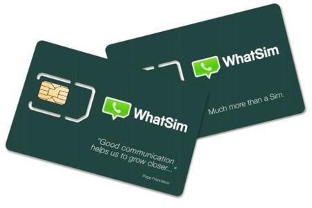 WhatSim, envia y recibe mensajes de WhatsApp en 150 países por 10 euros al año