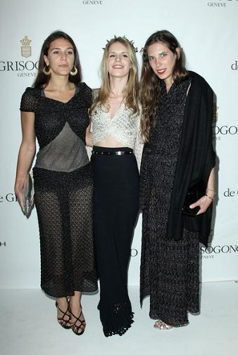 Socialités, chicas it y Cheryl Cole en la fiesta deGrisogno celebrada en Cannes