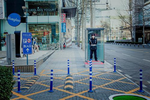 'Beijing', por Pierre Alivon, documentando la vida en la capital china en los tiempos del coronavirus