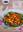 Ensalada de calabaza asada y rúcula con aliño balsámico. Receta