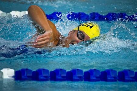 Nadadora Olimpica