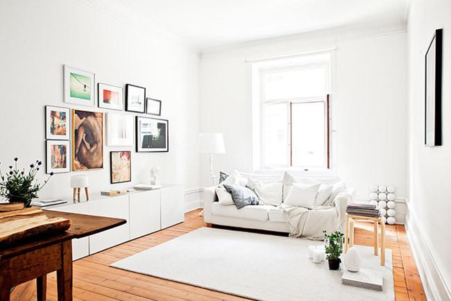 Un apartamento en el que el suelo es el protagonista - Suelo madera ikea ...