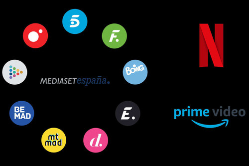 Mediaset en la guerra del streaming: acuerdos con Amazon y Netflix, series exclusivas y fin de lo gratis