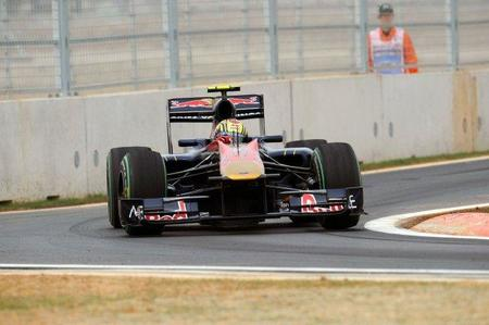 GP de Corea del Sur de Fórmula 1: Jaime Alguersuari pierde la décima posición en la última vuelta