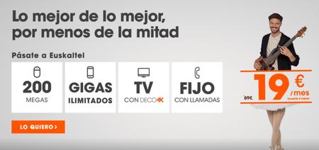 Euskaltel Con Gigas Ilimitados