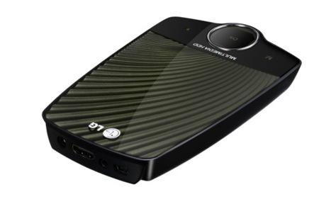 LG XF1 Mobile Theater, diseño en alta resolución