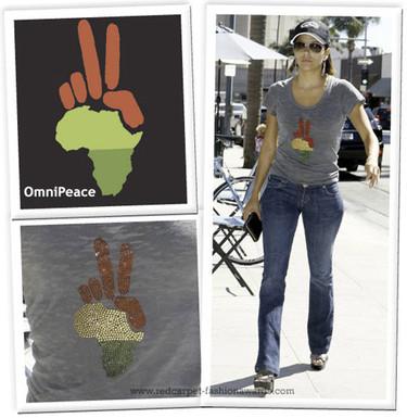 OmniPeace, la camiseta con fines solidarios favorita de los famosos