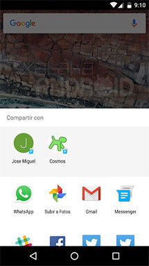 Google Messenger 1.5 añade soporte a Direct Share de Android Marshmallow
