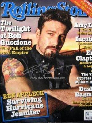 Ben Affleck en la revista Rolling Stone