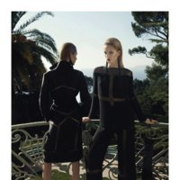 Alberta Ferretti Campaña Primavera-Verano 2012: la sofisticación del negro
