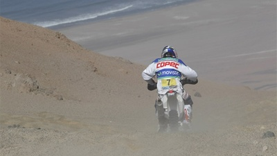"Francisco ""Chaleco"" López abandona las motos"