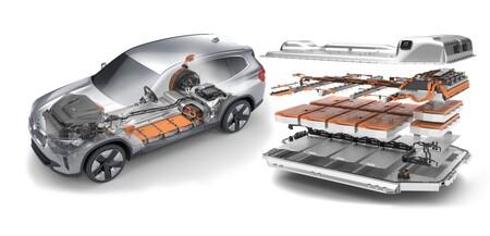 BMW iX3 conjunto de baterías y motor eléctrico