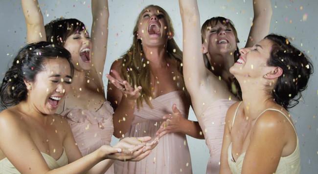 La cámara lenta llega a la fotografía de bodas. ¡Y mola mucho!