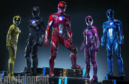 Así lucirán los nuevos Power Rangers