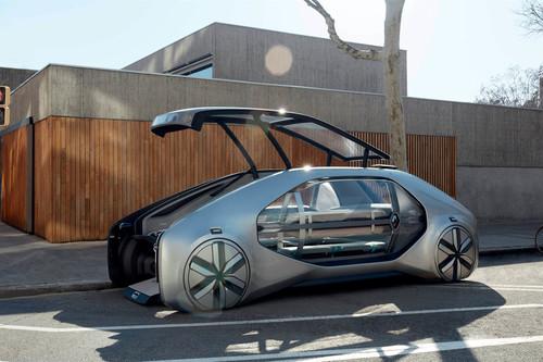 El Renault EZ-GO Concept propone un Uber Pool autónomo, pero más seguro y mejor en todo