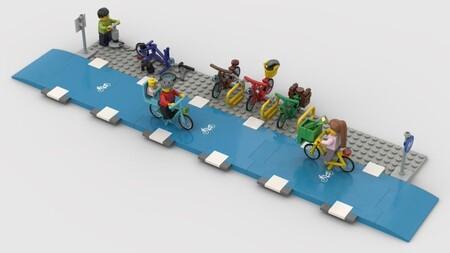 Idea de carril de bici diseñada por Marcel Steeman.
