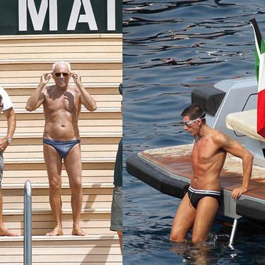Los diseñadores también van la playa: Armani y Gabbana
