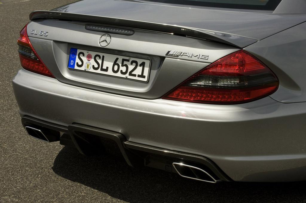 Foto de Mercedes-Benz SL 65 AMG Black Series (22/44)