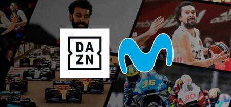 Movistar regala DAZN en el móvil a quienes tengan contratados sus canales
