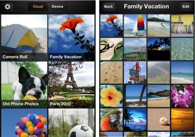 amazon cloud drive photos app iphone ios