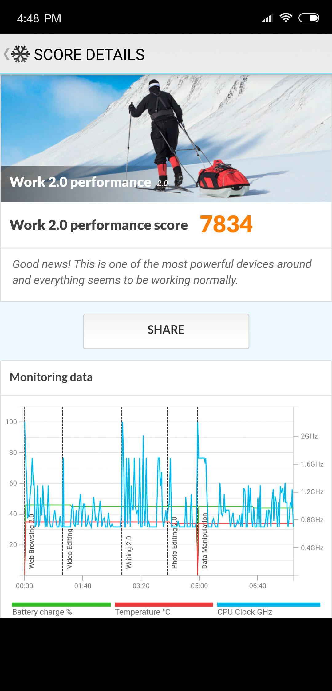Xiaomi Mi 8, benchmarks