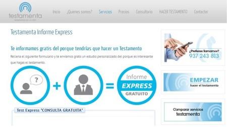 Testamenta, la web para hacer testamento online, con informe express gratuito