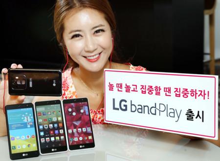 LG Band Play sube el nivel en sonido y cámara en la gama media