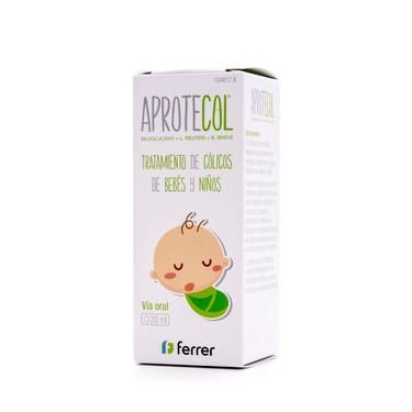 Retiran el medicamento Aprotecol para tratar los cólicos del lactante tras una reacción alérgica en un bebé de ocho días