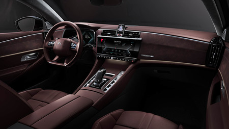 DS 9 híbrido enchufable interior