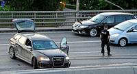 Intento fallido de robo armado en Estocolmo con un Audi RS6