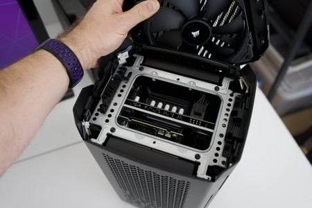 Corsair One I160 Review Ventilador