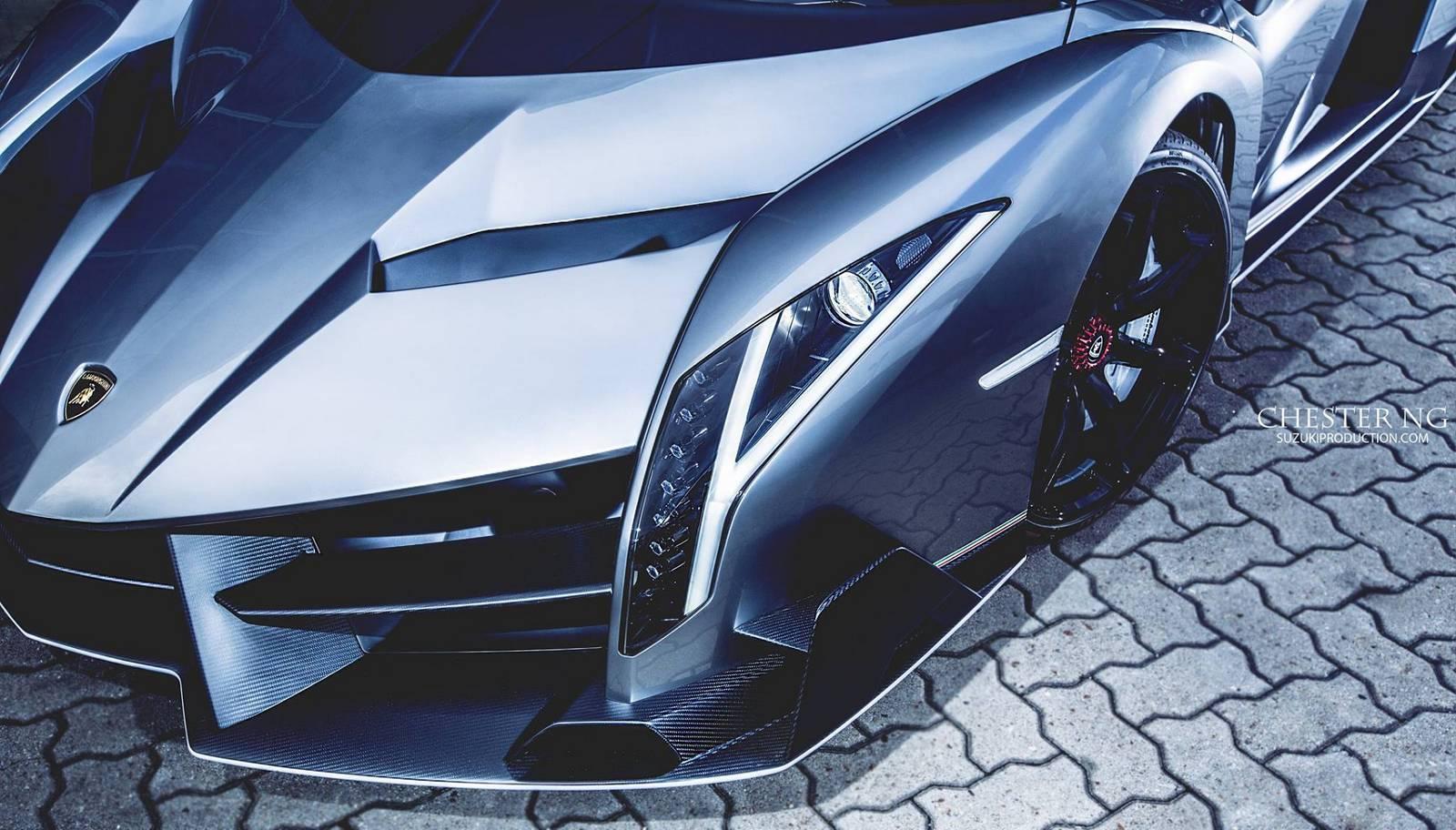 Lamborghini Veneno En Hong Kong 3 3