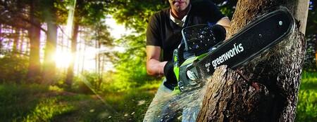 Ofertas en herramientas para hogar y jardín de marcas como Bosch Professional o Greenworks a la venta en Amazon