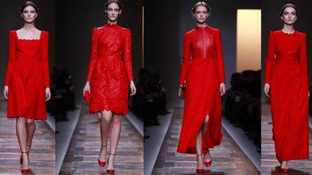 Valentino propuestas en rojo
