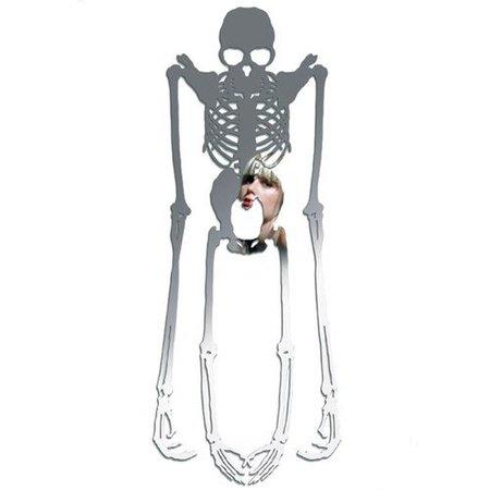 espejo esqueleto