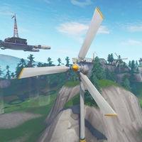 Desafío Fortnite: visita distintas turbinas eólicas en una misma partida. Solución