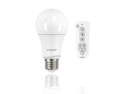 Las nuevas bombillas LED de Roblan te hacen más fácil el cambiar de ambiente en casa