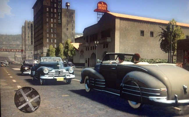 Brown Derby en L.A. Noire