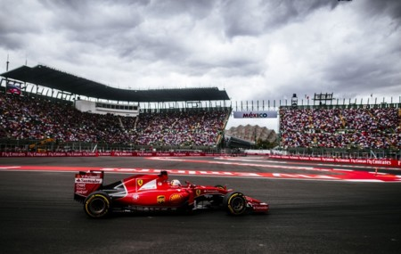 Sebastian Vettel Gp Mexico 2015 F1