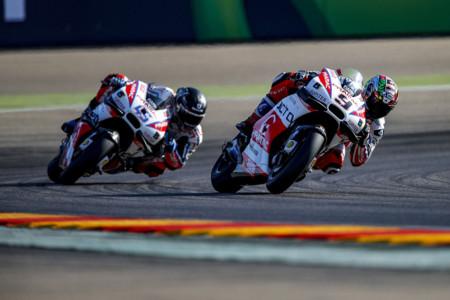Danilo Petrucci Scott Redding Pramac Ducati 2016