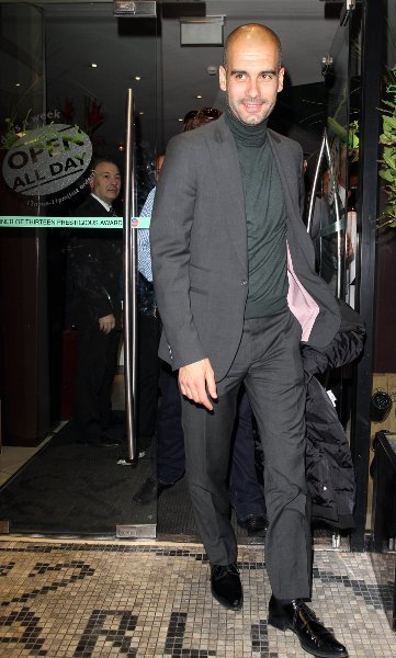 Pep Guardiola y su total gray look, cómo conseguirlo a un precio asequible