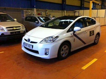 Toyota Prius taxi GLP