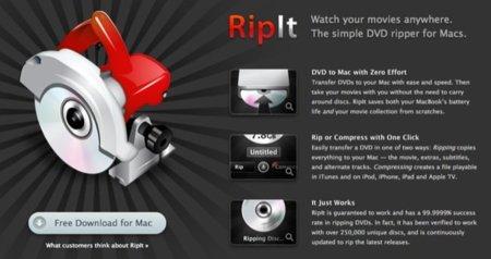 Ripit, ripeando tus DVDs con un click