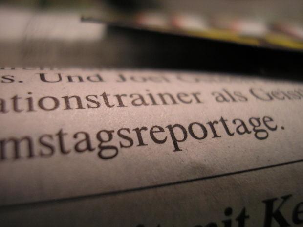 Periódicos Alemán