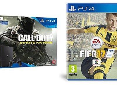 Cyber Monday: llévate la PS4 con CoD Infinite Warfare y FIFA 17 por sólo 329,95 euros