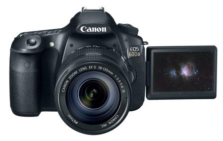 Canon EOS 60Da: Una réflex especializada en mirar a las estrellas