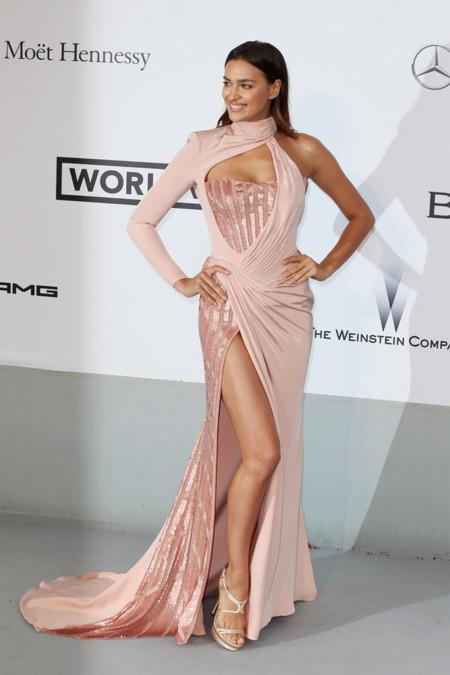 Irina Shayk amfar Cannes 2014