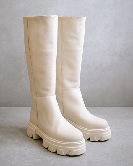 Katiuska Ivory Boots Alohas 416483 3000x