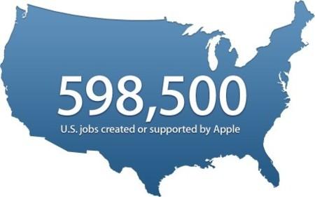 Apple actualiza su web de empleo mostrando los trabajos que ha creado en el 2012